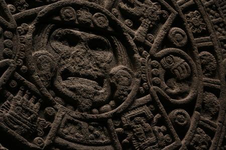 aztec calendar: aztec calendar