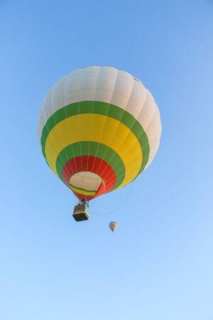 Hot air ballon Stock Photo