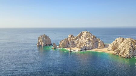 Aerial view of Cabo San Lucas