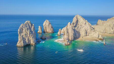 Luftaufnahme von Cabo San Lucas Standard-Bild