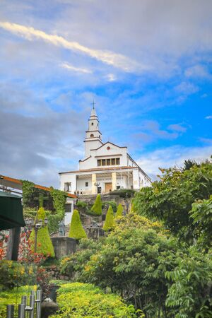 Church of Monserrate in Bogota
