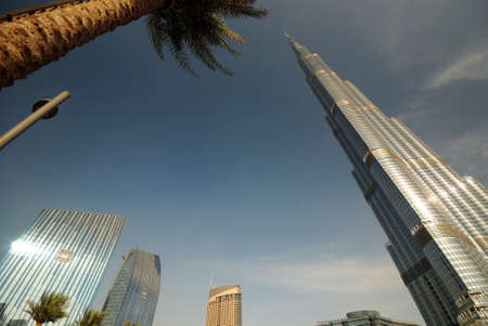 Burj Khalifa, the tallest building in the world photo