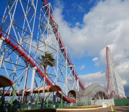鋼鉄ドラゴン 2000年が開かれたときに世界で一番高いジェット コースター、日本はまだ最も背が高い