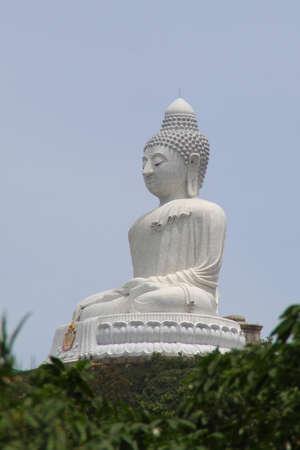 marmorate: View of the Big Budha of Phuket