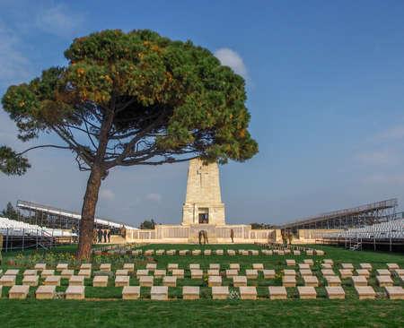 lone pine: Lone Pine Lone Pine ANZAC Memorial at the Gallipoli Battlefields in Turkey. Editorial