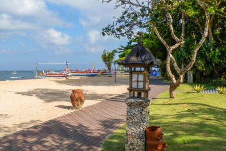 sanur: Bright and colourful Sanur beach in Bali.