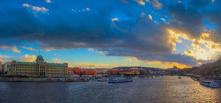 vltava: Prague and The Vltava River, Czech Republic