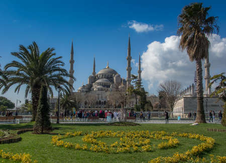 popularly: Sultan Ahmed Mosque is popularly known as the Blue Mosque