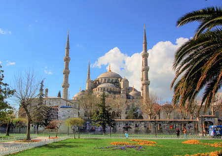 fatih: Sultan Ahmed Mosque is popularly known as the Blue Mosque
