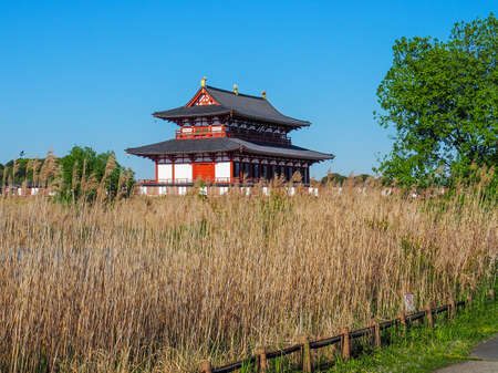 Heijo Palace in Nara is a UNESCO World Heritage Site.