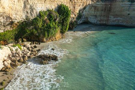 Mulino d'Acqua beach, Otranto, Puglia, Italy Stock Photo