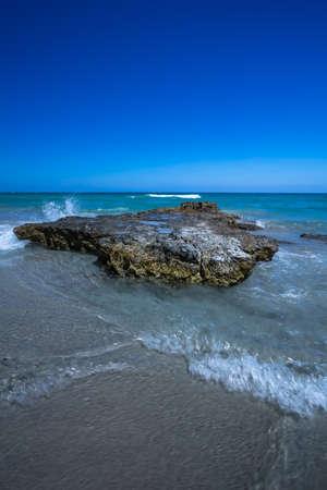 Rocks in the sea, Otranto, Puglia, Italy