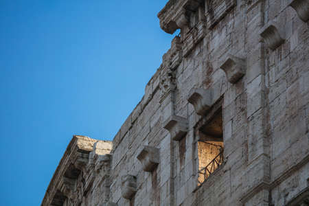 Some Colossseum's windows, Rome, Italy