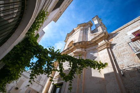 Street in Lecce, Italy Stock Photo