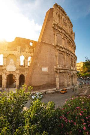 Colosseum in Rome, Lazio, Italy Stock Photo
