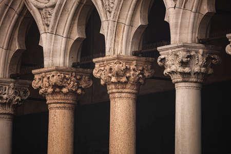 Detail of Saint Mark's Basilica, Venice, Italy