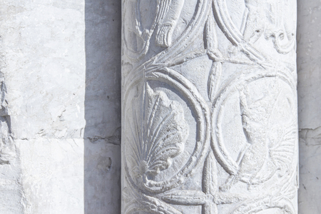ancient marble column Stock fotó