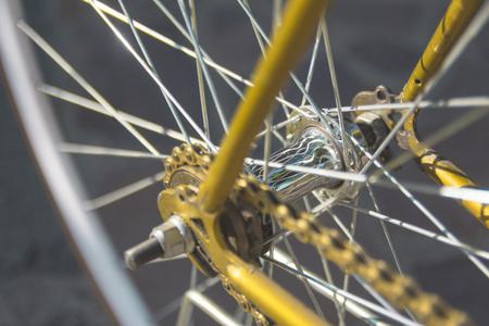 old bike close up