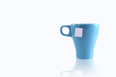 blue cup on right