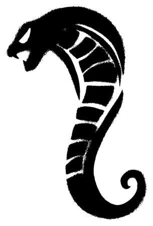 poisonous organism: Snake grunge