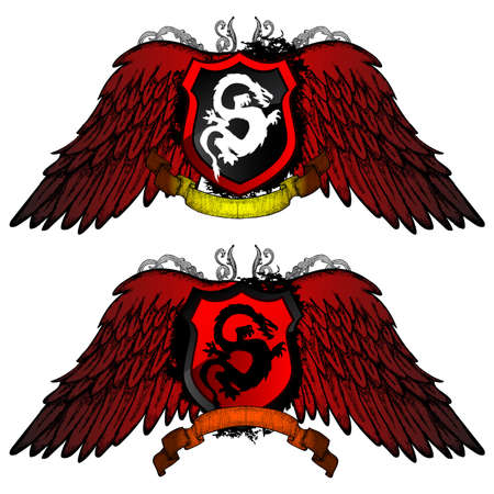 character traits: Grunge Dragon Shield