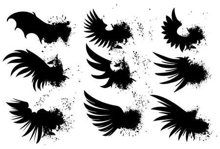 grunge wings: Ali grunge