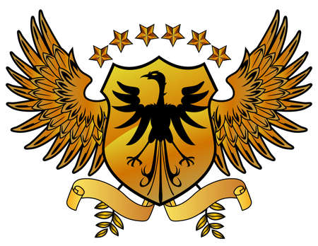 Eagle gold shield