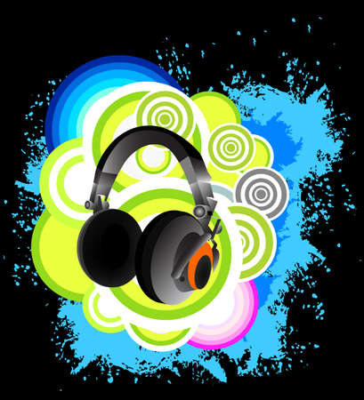 Headphone background