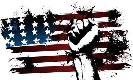 american culture: American fist
