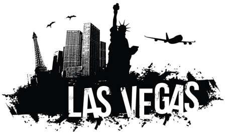 Las Vegas banner Vector