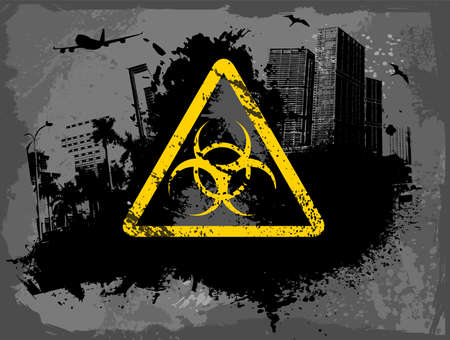 Toxic city Vector