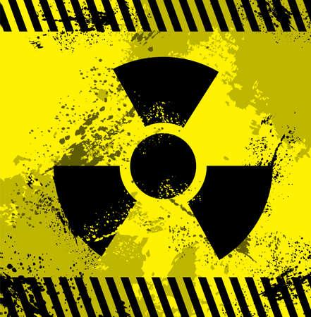 Radioactive symbol Stock Vector - 25529310