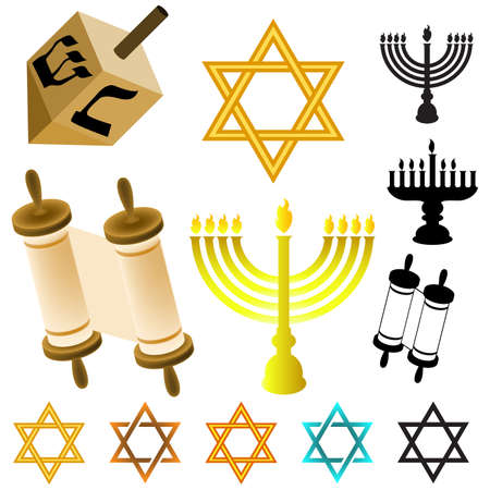 candlestick: Judaism elements