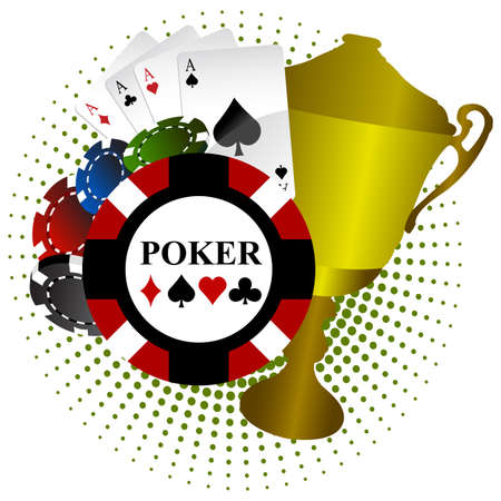 Poker Thorphy Vector