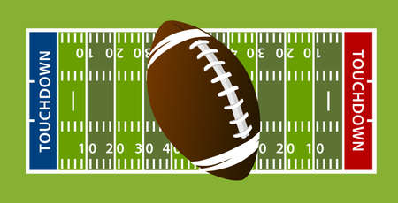 American football veld