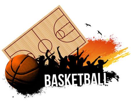Partido de baloncesto Foto de archivo - 25591121