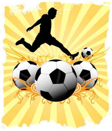 Soccer player Stok Fotoğraf - 25591056