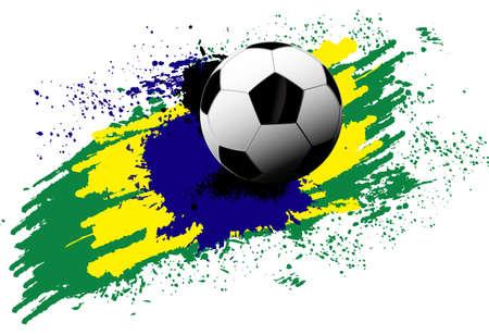 soccer ball brazil
