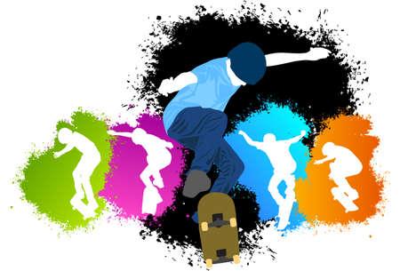 Colors skater