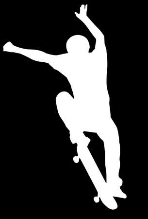 teenagers only: Skate silhouette