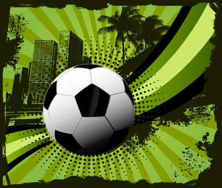 Soccer background Çizim