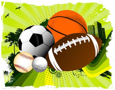 Sport balls city