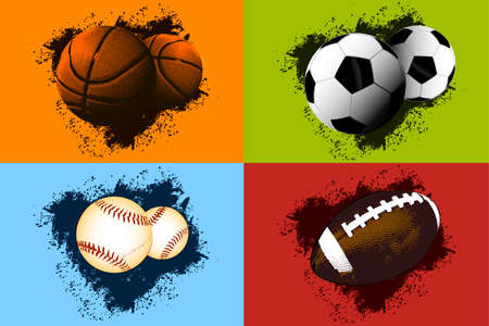 Sports background Illustration
