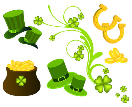 St  Patrick s Day elements Vector