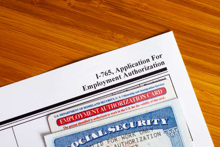 employment: Application for Employment Authorization to fill out