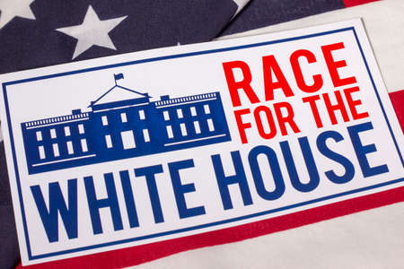 Race for the White House Stock Photo