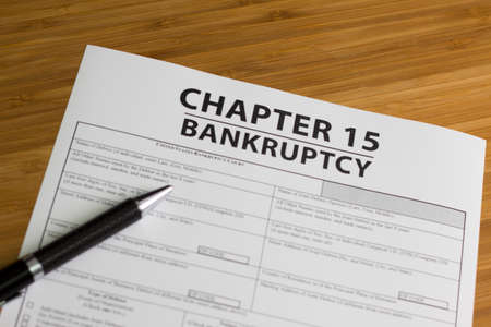 Documents for filing bankruptcy Chapter 15