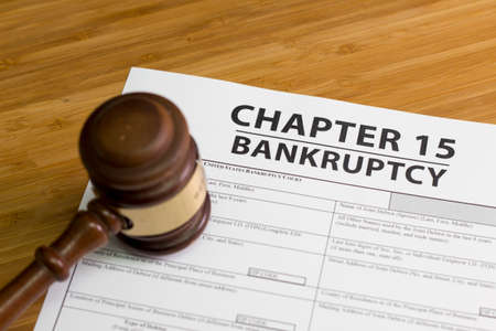 economic depression: Documents for filing bankruptcy Chapter 15