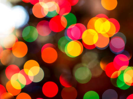 Christmas Backgrounds lights brightly and vibrant colors