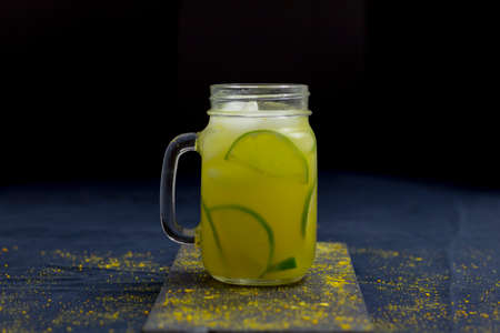 Tea Served With Fresh Organic Lemons, Oranges and Ginger